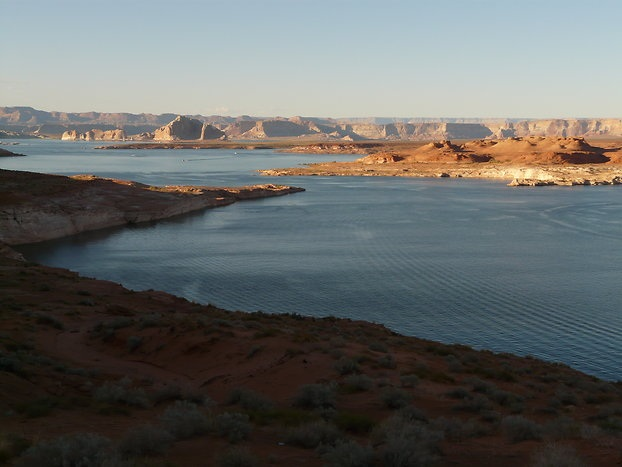 Der Lake Powell ...