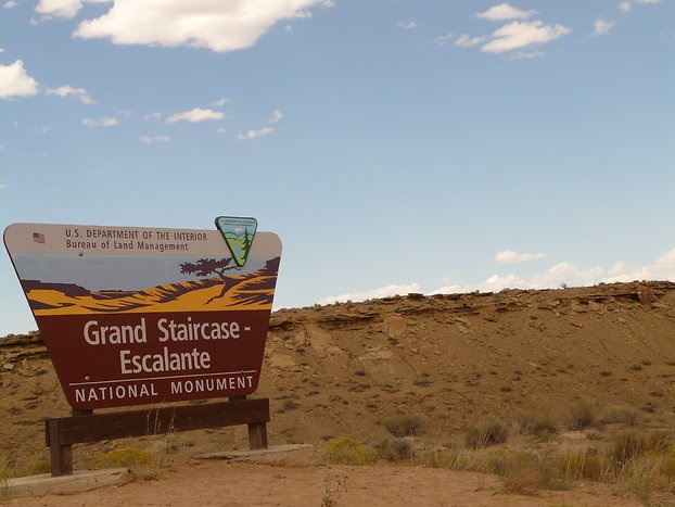 Das Grand Staircase-Escalante ...
