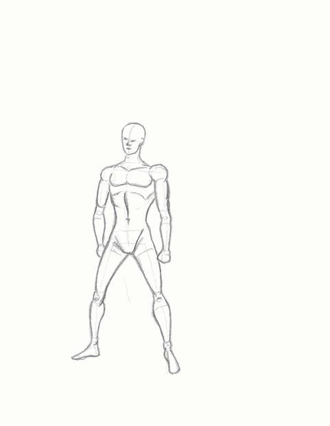 Zeichnen lernen – Körperproportionen und Figuren darstellen