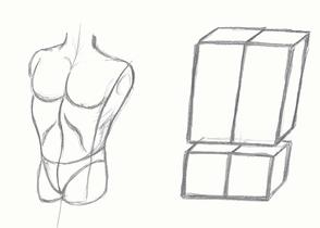 zeichnen lernen k rperdrehungen und figuren verk rzen. Black Bedroom Furniture Sets. Home Design Ideas