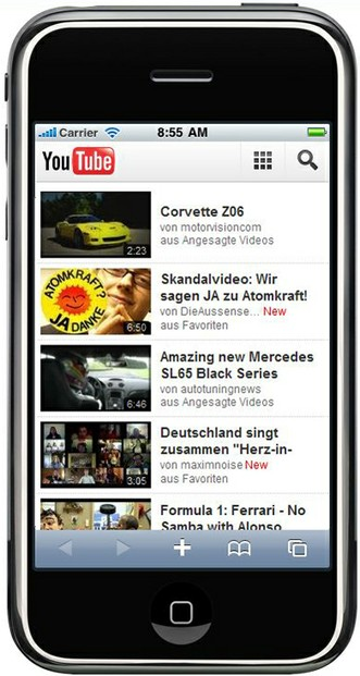 Youtube Mobil