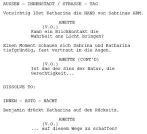 Drehbuchsoftware Für Das Schreiben Professioneller Screenplays