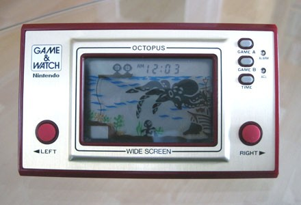 Game & Watch: Octopus: Batterien ...