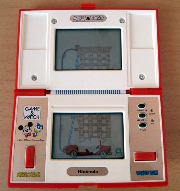 Game & Watch: Mickey & Donald, geöffnet