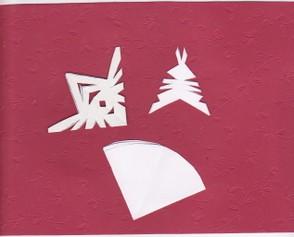 basteln f r weihnachten kerzen sterne und schneeflocken. Black Bedroom Furniture Sets. Home Design Ideas