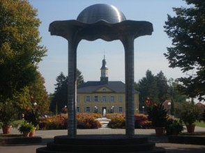 Der Salinenpark in Bad Rappenau