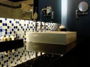 badezimmer beleuchtung stimmungsvoll und durchdacht. Black Bedroom Furniture Sets. Home Design Ideas