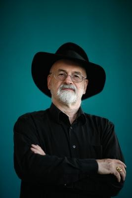 Terry Pratchett by Christian Thiel