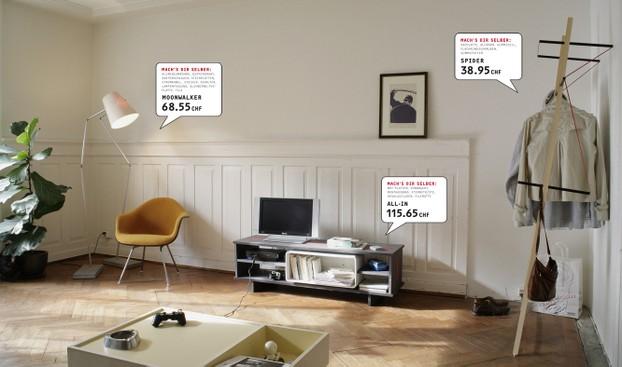 Designer-Möbel nach Bauplänen selbst bauen (Bild: Sarah Maurer / www ...