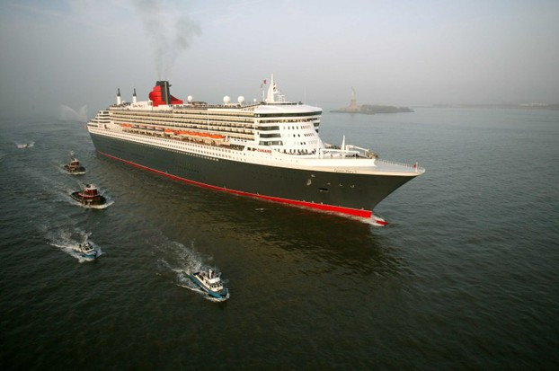 Die Queen Mary 2 in New York