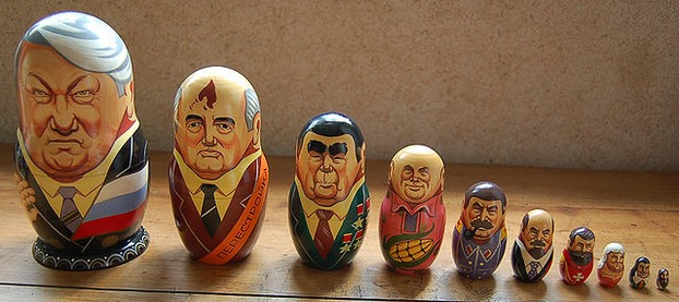 Russian Leaders Matriochka