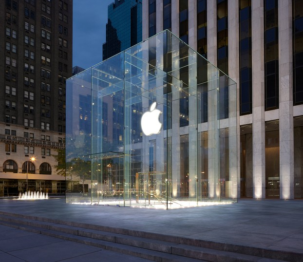 Apple-Shop in der 5th Avenue, New York