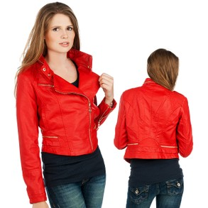 Italy Style Kelyna Paris Jacket Red