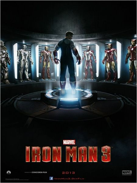 Iron Man 3 - Filmplakat