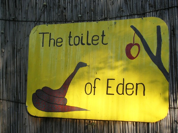 The Toilet of Eden