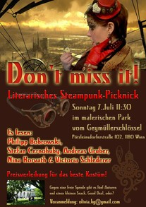 Literarisches Steampunk-Picknick