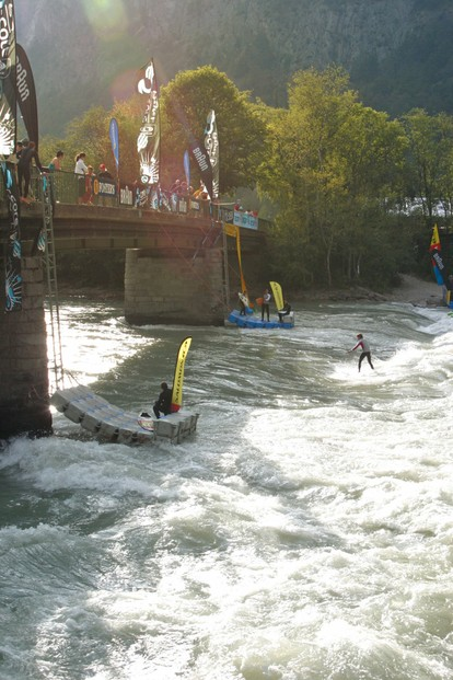 Riversurfen in Silz