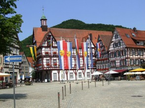Rathaus am Markt in Bad Urach