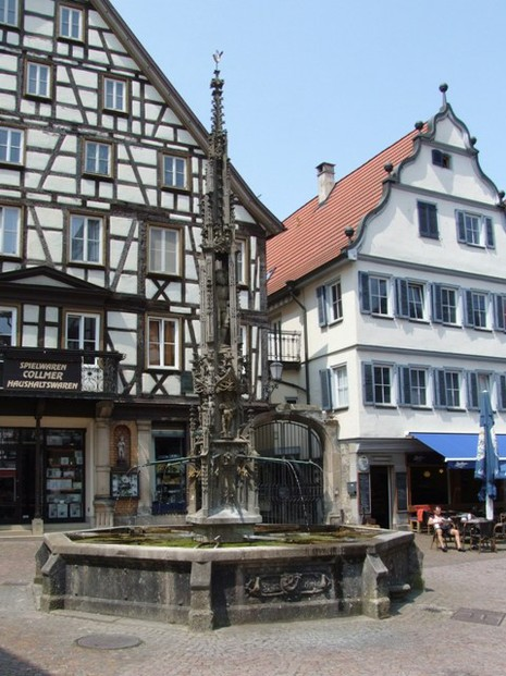Marktbrunnen in Bad Urach