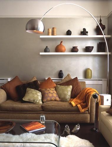 einrichtungsideen f r das wohnzimmer indirekte beleuchtung wirkt immer. Black Bedroom Furniture Sets. Home Design Ideas