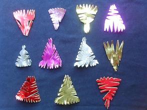 Sterne Aus Glanzpapier F 252 R Weihnachten Mit Kindern Basteln