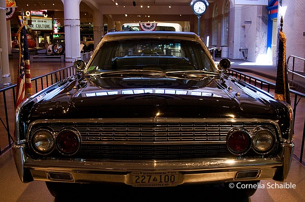 Kennedys Limousine im Henry-Ford-Museum