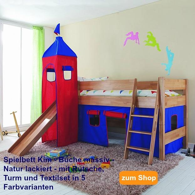 hochbett mit rutsche test 2018 diese betten sind sicher. Black Bedroom Furniture Sets. Home Design Ideas