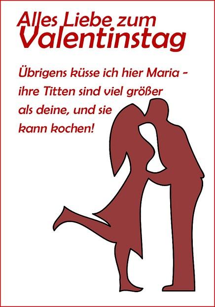 Anti valentinstag sprüche : Wassermann mann flirtet