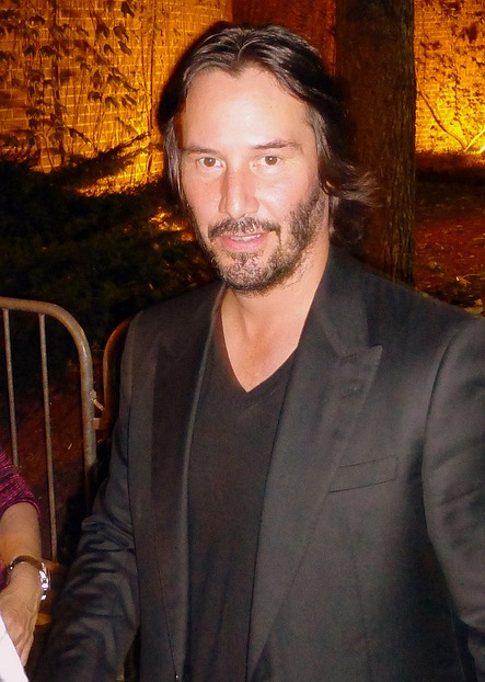 Keanu Reeves at the premiere of Man ...