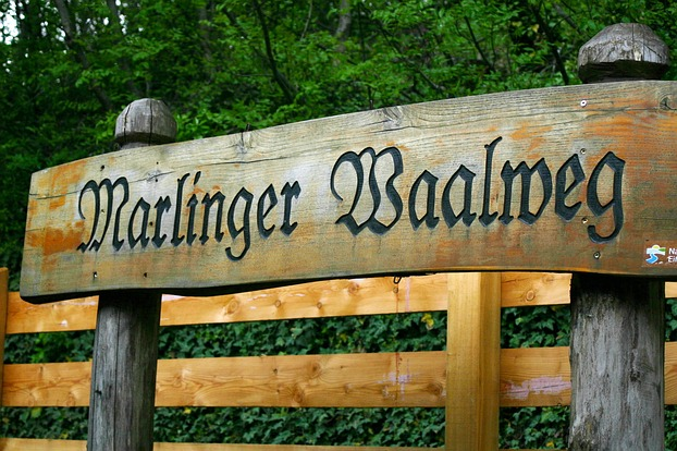 Start zum Marlinger Waalweg
