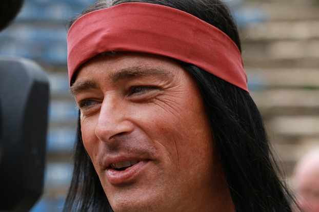 Jan Sosniok als Winnetou
