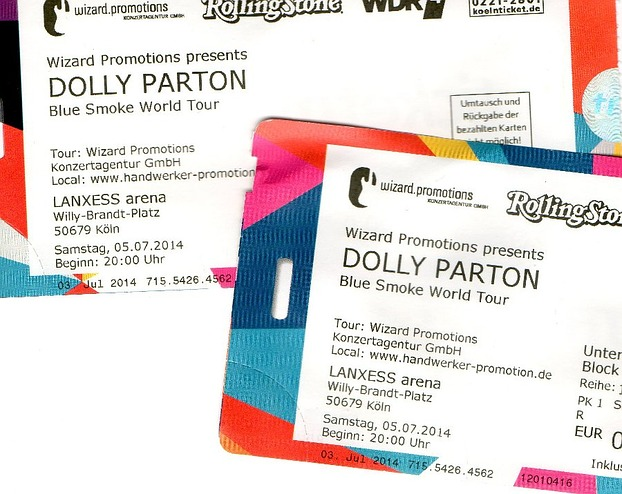 Dolly Parton-Tickets