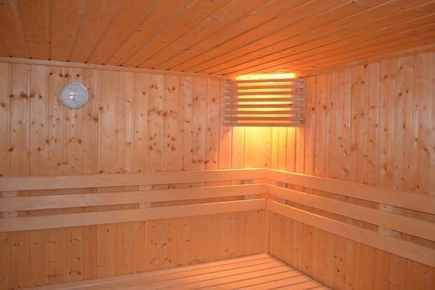 """Saunalampe /""""Espe/"""" Saunalicht Saunaleuchte Holz Blendschirm Saunaeinrichtung"""