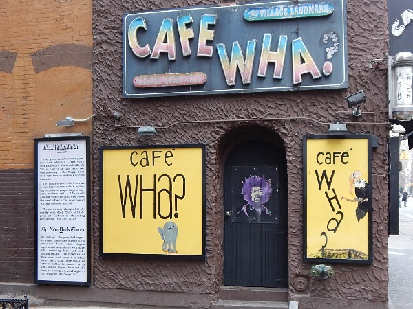Cafe Wha Greenvillage, Manhattan ...