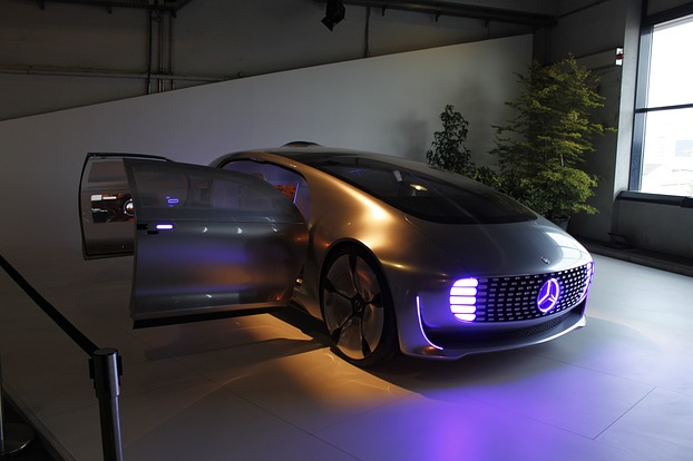 Der Mercedes-Benz F015 Luxury in Motion