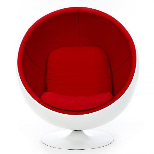 Poltrona Ball chair Finn Stone - it.privatefloor.com