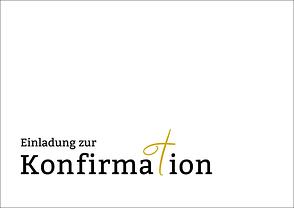 Einladungskarte Zur Konfirmation   .