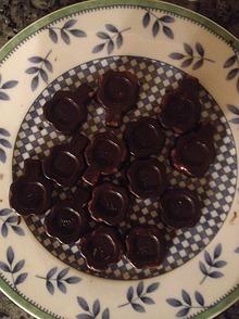 zuckerfreie Zartbitterschokolade