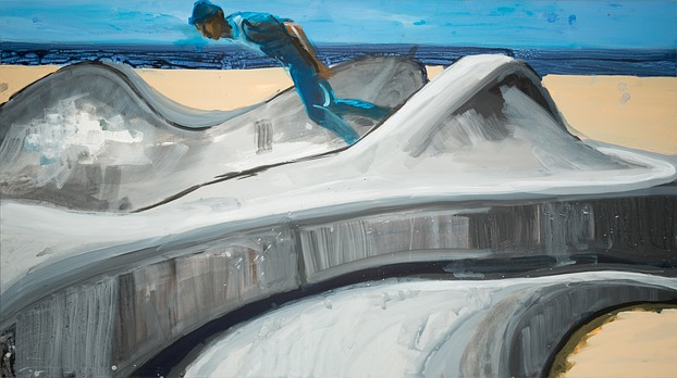 Rainer Fetting, Skaterpark ...