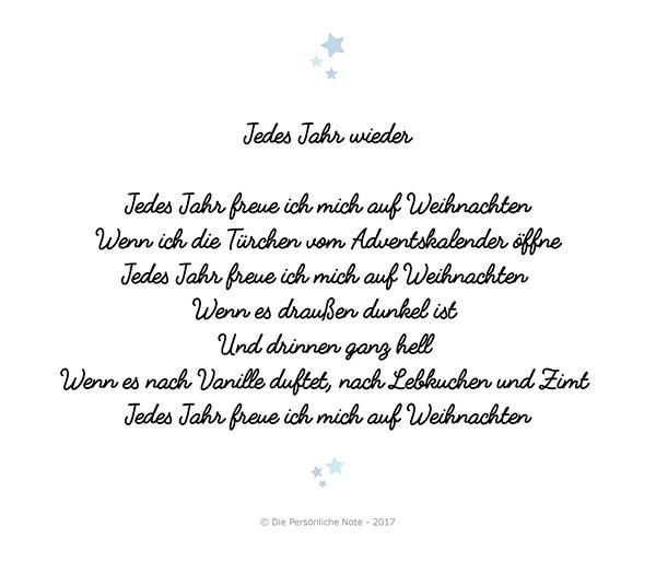 Weihnachtsgedichte Für Kinder Grundschule.Kinder Schreiben Weihnachtsgedichte