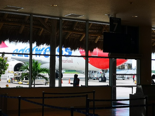 EDELWEISS AIRLINE@PUNTA CANA AEROPUERTO