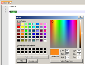 Screenshot - ColorPicker Plugin Notepad++