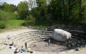 Amphitheater in Edling