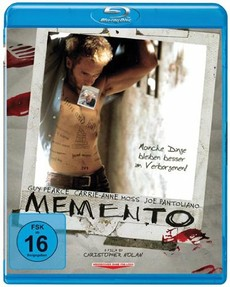 "Cover der blu-ray ""Memento"""