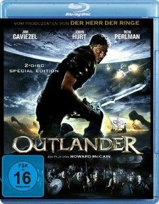 Outlander - Cover der blu-ray