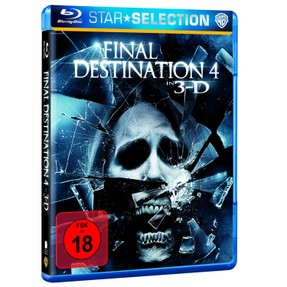 Final Destination 4 - Cover der blu-ray