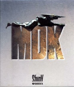MDK - Cover der PC-Version