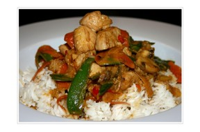 Thai Curry Reis