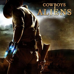 "Filmposter ""Cowboys & Aliens"""