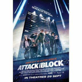 "Poster ""Attack the Block"""